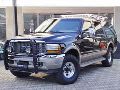 フォード エクスカージョンLTD 4WD ベージュレザーシート シートヒーター