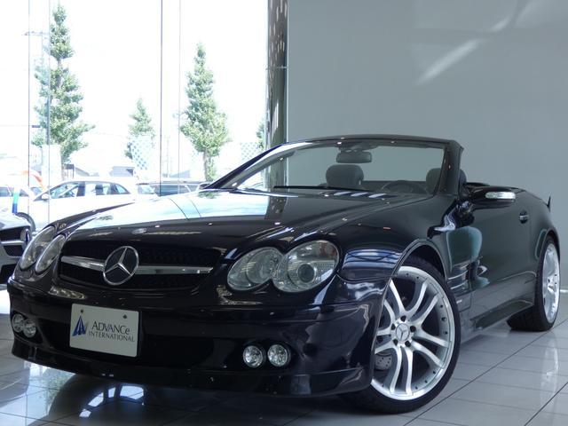 メルセデス・ベンツ SL500Bルック正規ディーラー車下取車社外HDDナビBカメ
