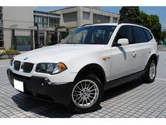BMW X32.5i 4WD 禁煙車 HDDナビ バックカメラ 黒本革