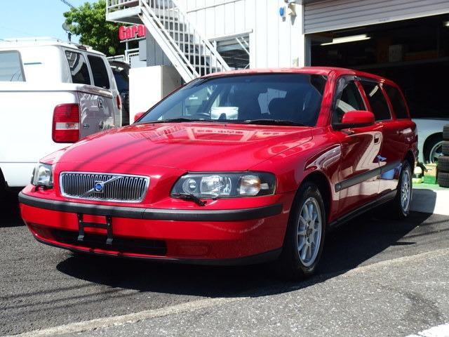 ボルボ 2.4 黒革シート ディーラー車 パワーシート キーレス