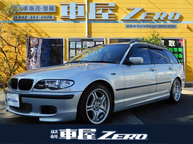 BMW 3シリーズ 318iツーリング Mスポ ナビ TV DVD再生 ETC