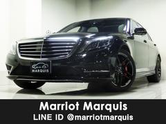 M・ベンツS550ロング 新車保証継承 右ハンドル ホワイトレザー