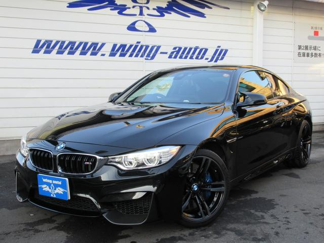 BMW M4クーペ MDCT 黒革 LEDライト 19AW