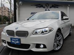 BMWアクティブハイブリッド5Mスポーツ14y型 黒革SR LED