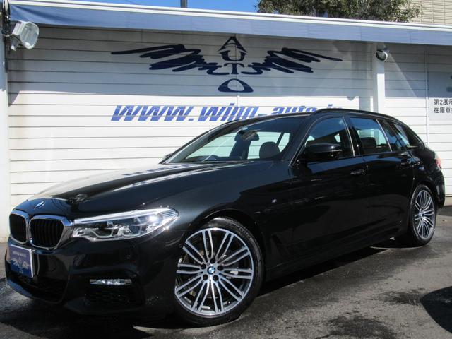 BMW 523dツーリング Mスポーツ ハイライン ベージュ革