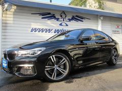 BMW740i Mスポーツ モカ革 SR 20AW