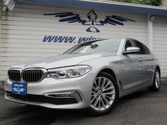 BMW523d ラグジュアリー 黒革 ACC 衝突軽減 Aトランク