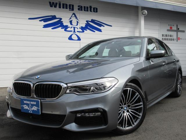 BMW 523d Mスポーツ ハイラインパッケージ アイボリー革 ACC 地デジ