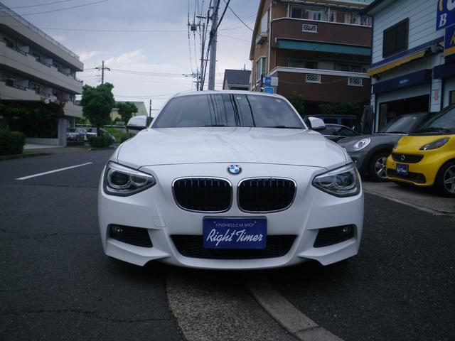 BMW 116i スポーツ ナビ バックカメラ サンルーフ フルエアロ HID 過給器設定モデル