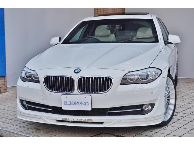 BMWアルピナ ターボ リムジン右ハンドル1オーナー20AWガラスサンルーフ