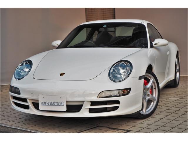 ポルシェ 911カレラ4S 1オーナー 6MT 右ハンドル スポーツクロノパッケージ 19インチカレラクラッシックホイール スポーツエグゾースト スポーツシート