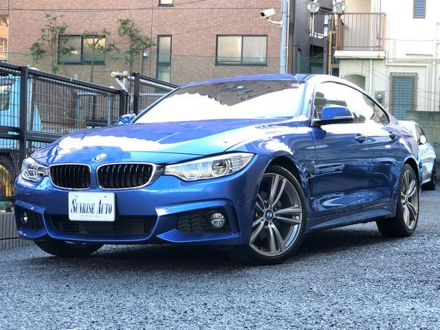 BMW 420iグランクーペ Mスポーツ レッドレザー 社外地デジ