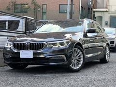 BMW523iツーリング ラグジュアリー 黒革 リアシートヒーター