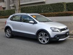 VW ポロクロスポロ LED 禁煙ワンオーナ ナビ地デジTV Bカメラ