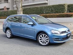 VW ゴルフヴァリアントTSIハイライン 衝突軽減レーダー ACC ナビTV Bカメ