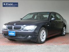 BMW 740i  黒本革シート 前後シートヒーター PDC