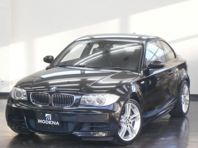 BMW 135i 黒革シート シートヒーター 純正HDDナビ