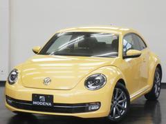 VW ザ・ビートルデザインレザーパッケージ 黒革シート フルセグ純正ナビ