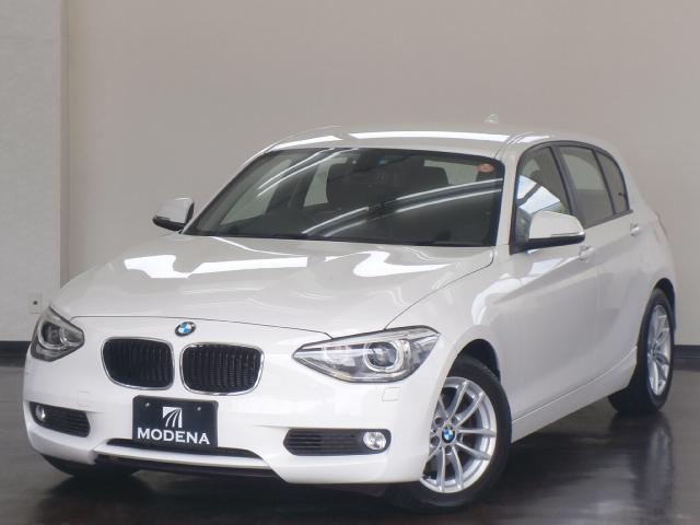 BMW 120i 黒革シート 純正HDDナビ コンフォートアクセス