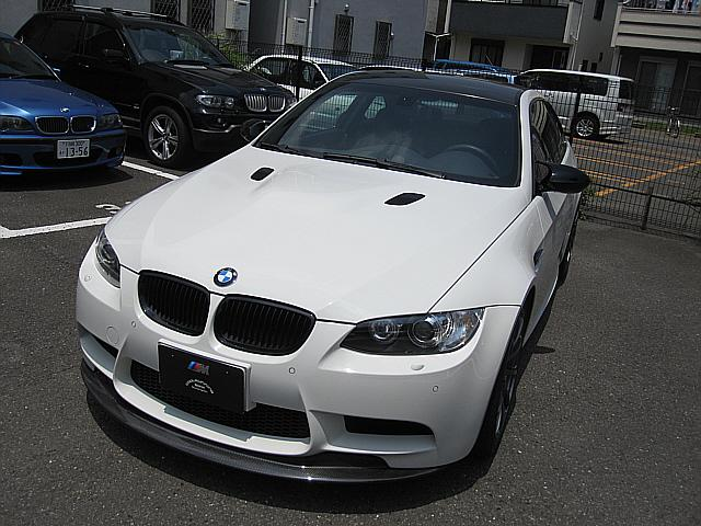 BMW M3クーペMドライブPKGアドバンレーシング19インチアルミ
