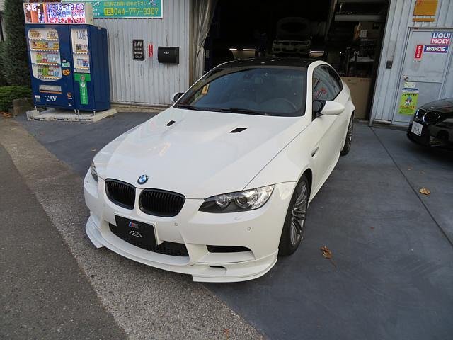 BMW M3 M3クーペ Mドライブパッケージ 3Dデザインフロントリップスポイラー同色塗装 地デジHDDナビ ワンオーナー