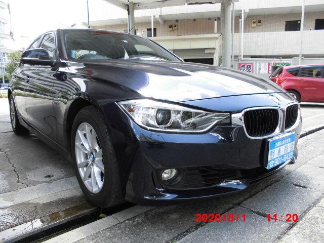 BMW 320i バックカメラ パワーシート ETC 点検整備記録簿 スマートキー