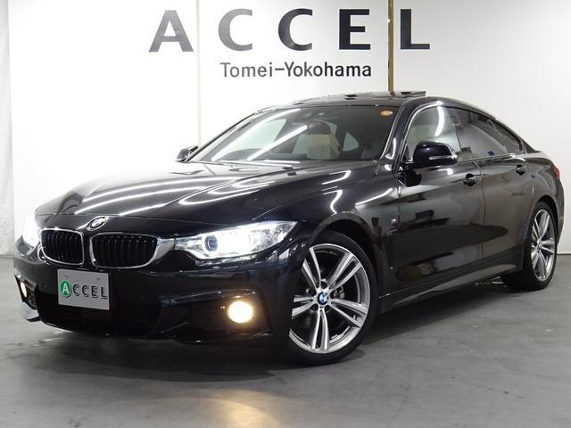 BMW 428iグランクーペ Mスポーツ 本革 サンルーフ ACC