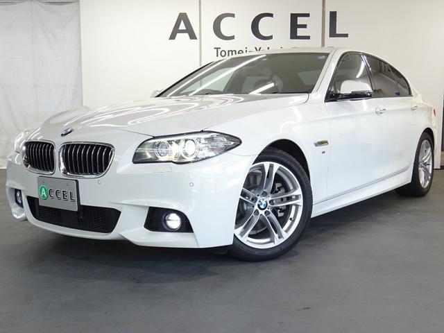 BMW 523d Mスポーツ 純正HDDナビTV Bカメラ ACC