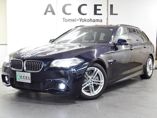 BMW 523iツーリング Mスポーツ ハイライン 黒革 ACC