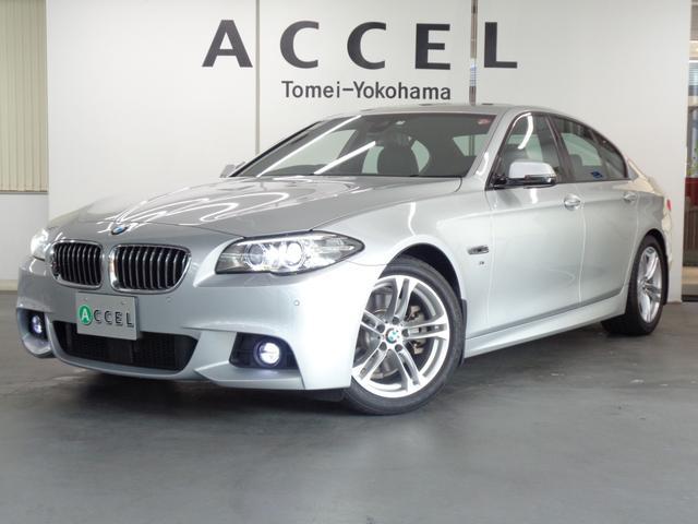 BMW 5シリーズ 523d Mスポーツ ACC インテリジェントセーフティ ブラックレザーシート&ヒーター 純正HDDナビ&TV バックカメラ コンフォートアクセス Mスポーツエアロ&18インチアルミ
