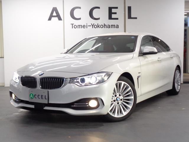 BMW 4シリーズ 420iグランクーペ ラグジュアリー ブラウンレザーシート&ヒーター ACC 純正HDDナビ バックカメラ コンフォートアクセス