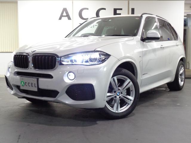 BMW xDrive 35d Mスポーツ ブラックレザーシート&ヒーター ACC 純正HDDナビ&TV トップビューカメラ LEDヘッドライト 電動トランク レーンチェンジウォーニング Mスポーツエアロ&19インチアルミ ワンオーナー