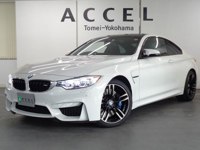 BMW M4クーペ 6速マニュアル カーボンルーフ ブラックレザーシート&ヒーター 6速MT 純正HDDナビ&TV バックカメラ コンフォートアクセス LEDヘッドライト レーンチェンジウォーニング 純正19インチアルミ