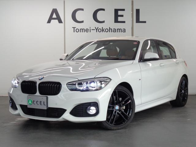BMW 118d Mスポーツ エディションシャドー ブラウンレザーシート&ヒーター ACC 純正HDDナビ&TV Bカメラ コンフォートアクセス LEDヘッドライト 純正18インチアルミ