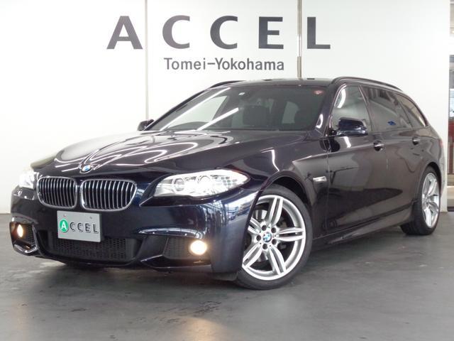 BMW 5シリーズ 523iツーリング Mスポーツパッケージ Mスポーツエアロ&オプション19インチアルミ 純正ナビ/TV/カメラ 2リッターターボエンジン アルカンターラシート