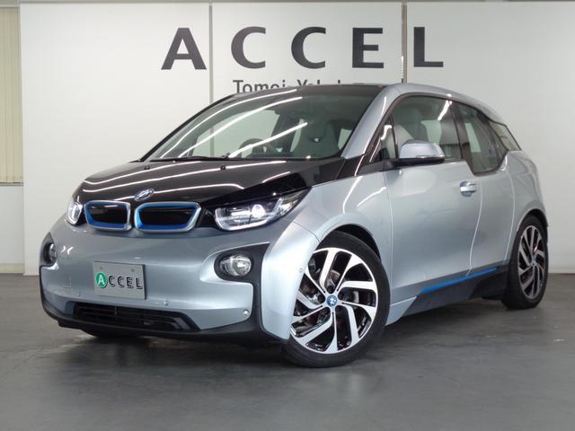 BMW レンジ・エクステンダー装備車 ACC 純正HDDナビ バックカメラ ハーフレザーシート コンフォートアクセス 純正19インチアルミ LEDヘッドライト