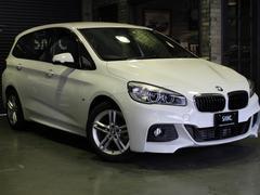 BMW218iグランツアラー Mスポーツ 新車保証 HDDナビ