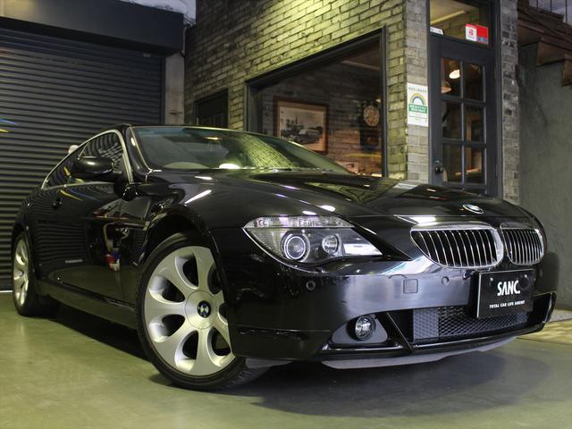 BMW 6シリーズ 650i 禁煙車 アダプティブ・ヘッドライト キセノンヘッドライト レザーシート シートヒーター クルーズコントロール パーキングセンサー 純正HDDナビゲーション ETC