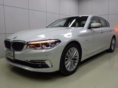 BMW523d ラグジュアリー ブラックレザー 正規認定中古車