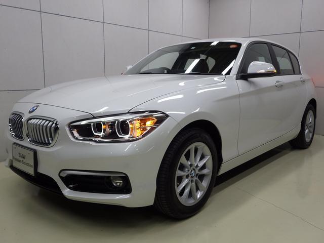 BMW 118d スタイル 後期モデル ハーフレザー 正規認定中古車