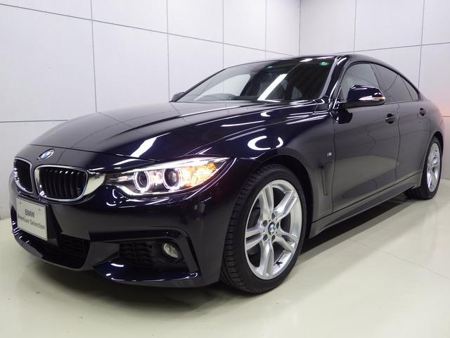 BMW 420iグランクーペ Mスポーツ 白レザー 正規認定中古車