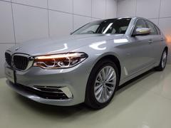 BMW523iラグジュアリー ブラックレザー 正規認定中古車