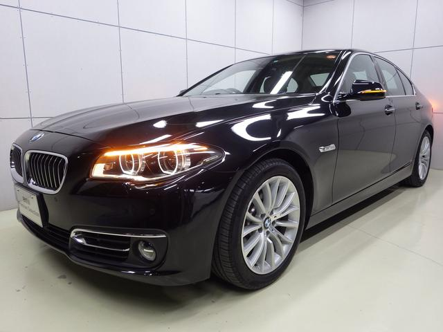 BMW 528iラグジュアリー レザー サンルーフ 正規認定中古車