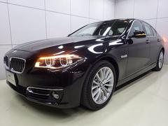 BMW528iラグジュアリー レザー サンルーフ 正規認定中古車