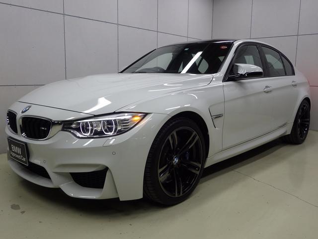 BMW M3 メリノレザー 19AW 正規認定中古車