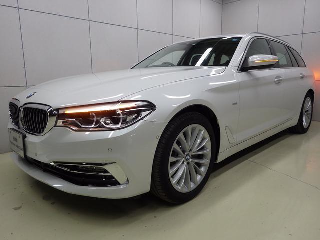 BMW 523iツーリング ラグジュアリー 正規認定中古車