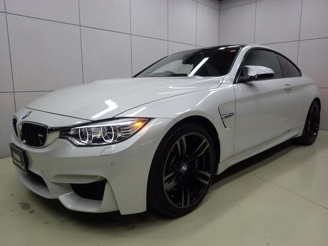 BMW M4クーペ ブラックメリノレザー 正規認定中古車