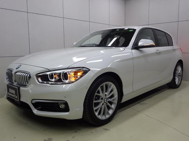 BMW 118i ファッショニスタ オイスターレザー 正規認定中古車