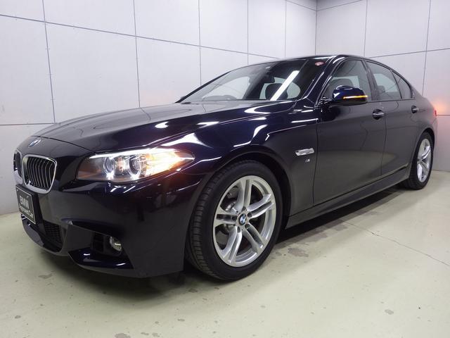 BMW 5シリーズ 523i Mスポーツ アクティブクルーズコントロール フルセグTV 正規認定中古車