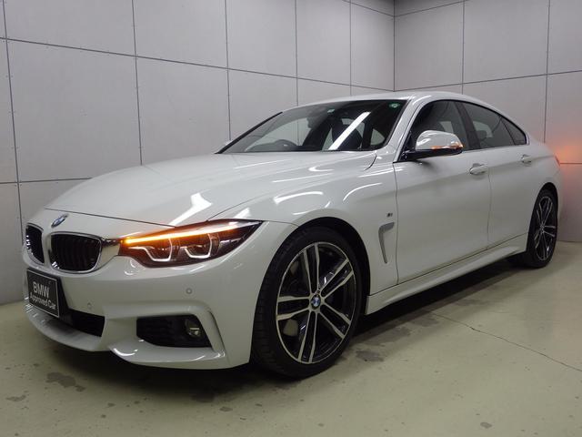 BMW 420iグランクーペ イン スタイル スポーツ 300台限定車 アクティブクルーズコントロール ブラックレザーシート Mスポーツブレーキ サテンアルミエクステリア 正規認定中古車